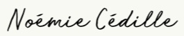 noemi cedille logo